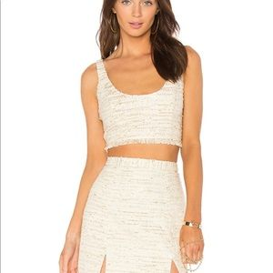 NBD Skirts - Brand new & never been worn NBD tweed shirt